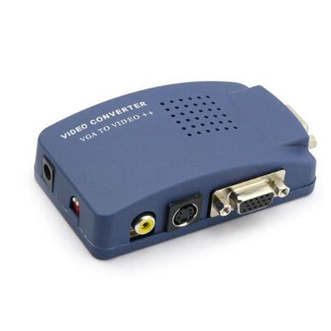 converter vga to rca pc to tv monoprice vga to rca adapter pc to tv converter