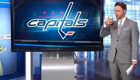 Local sports anchor pulls a Ron Burgundy after Capitals ...