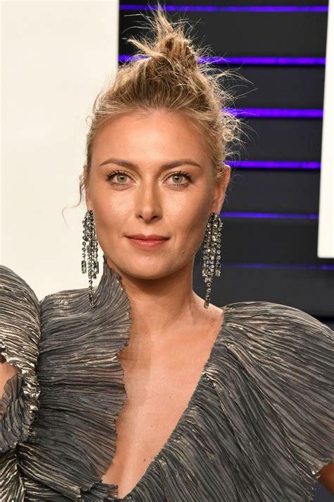 Maria Sharapova Vanity Fair Oscar Party