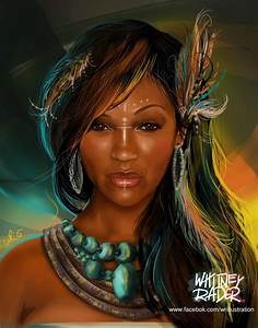 African Native American by Ayeri This chick favors Megan ...