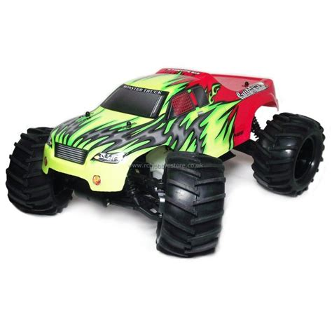 nitro rc monster trucks himoto bruiser 1 8 scale nitro rc monster truck 2 4ghz