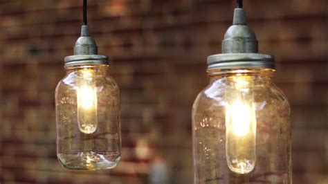 light bulb mount diy jar light lantern