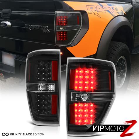 2014 f150 tail lights black out 2009 2014 ford f150 led smd rear brake tail