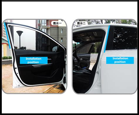 4m Z-type Car Door Window Rubber Seal Hollow Strip