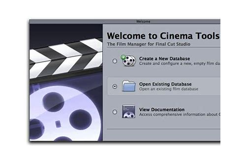 free download cinema tools for mac