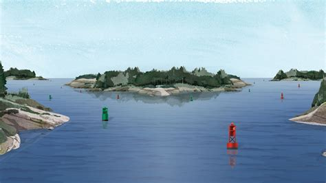 Boat Buoy by The Lateral Navigation System And Buoy Types Boatsmart