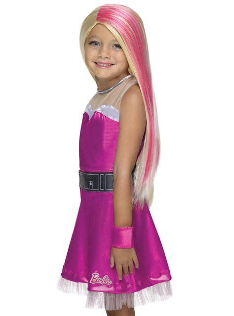 super sparkle barbie super princess wig   girl