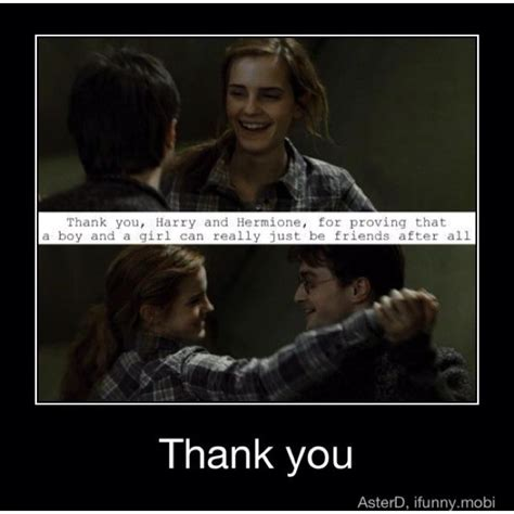 Hermione Meme - thank you i m sorry to go on a rant but the memes that say quot ron got the girl so i banged his