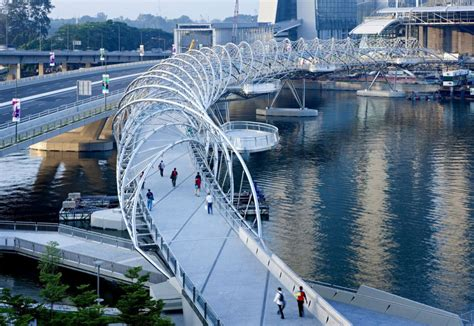 Helix Bridge In Singapore By Cox