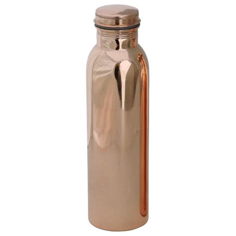 copper bottle  water  litre glossy dirt proof leak proof  joint  ayurveda  yoga