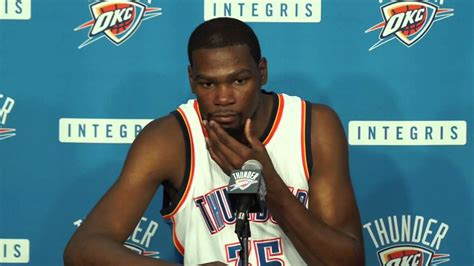 2014 Thunder Media Day With Kevin Durant Youtube