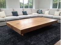 extra large coffee table Extra Large Sectional Circular Ottoman By Dunbar At ...