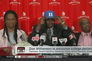 Zion Williamson Commits To Duke
