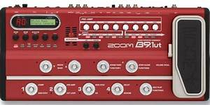 Zoom B9 1ut Bass Effects Console