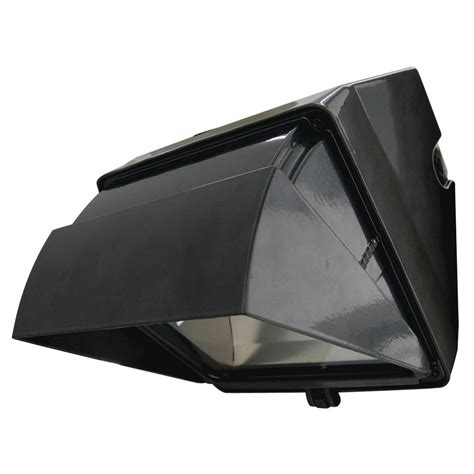 lithonia lighting metal halide bronze wall pack with