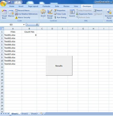 loop through worksheets vba resultinfos