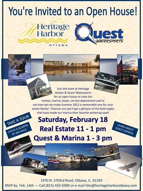 Quest Boat Club Road by Quest Open House Join Us February 18 2012