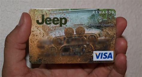 Chrysler Rewards my new awesome visa card jeepforum