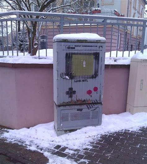 Game Boy Graffiti Art Pic Global Geek News