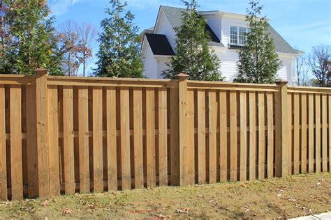 pictures of wood fences wood fences designs accurate fence atlanta fence company