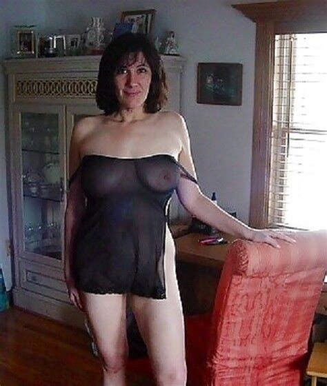 Mature Tits In See Through Top