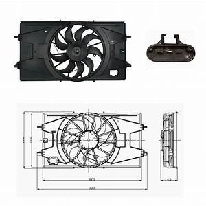 Eltric Fan Wiring Gm : electric radiator cooling fan assembly fits 2005 2010 ~ A.2002-acura-tl-radio.info Haus und Dekorationen