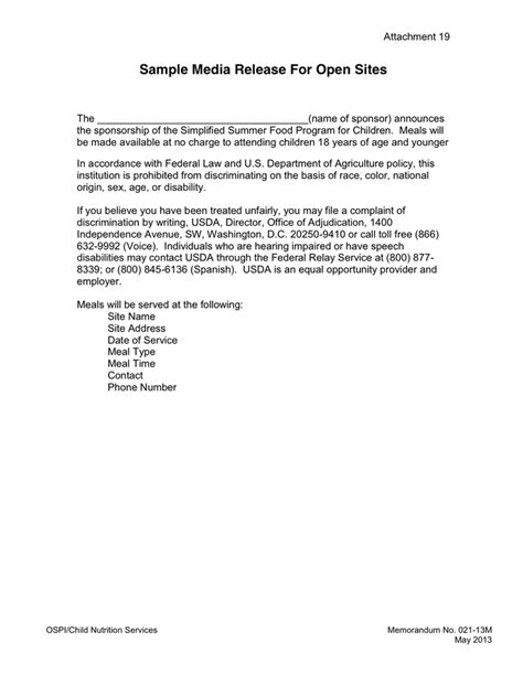 press release cover letter examples media release cover letter in word and pdf formats page