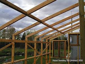 Faire Sa Serre En Polycarbonate : plan de serre structure d 39 une serre en bois id es et ~ Premium-room.com Idées de Décoration