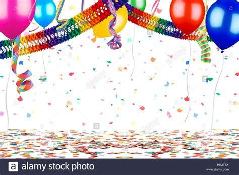 Colorful Empty Party Carnival Birthday Celebration