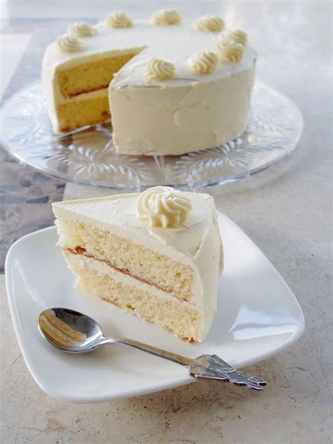 vanilla cake very vanilla cake liz bakes cakes