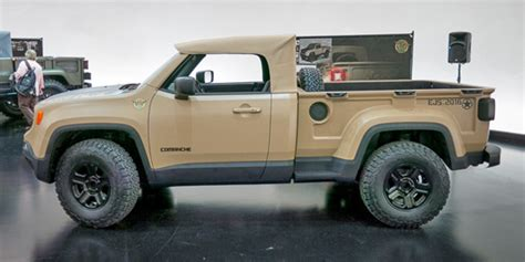 new jeep concept truck any chance of removal top on the new jeep wrangler pickup