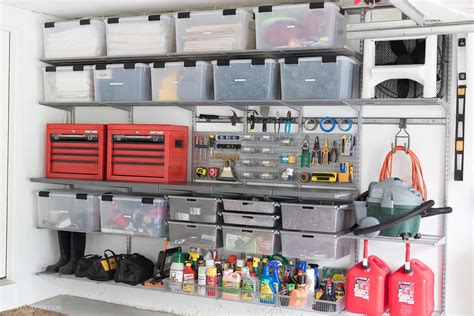 Garage Organization How To by Garage Organization Tackling Our Mess With Elfa