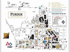 Purdue university map IUPUI building map Indiana USA