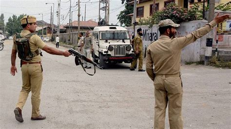 J&K: Terrorist killed in encounter with security forces in ...