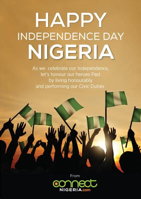 nigeria  happy independence day nigeria connect