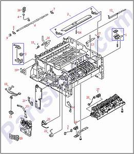 Rg5-3520-060cn Hp Paper Guide - Tray 1 Pape