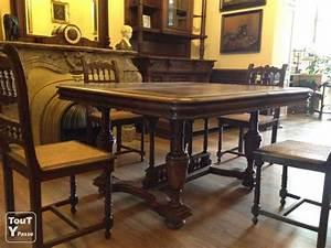 Table En Bois Massif Ancienne : table ancienne chene massif ~ Teatrodelosmanantiales.com Idées de Décoration