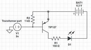 Led - Constructing A Simple Emergency Light Kit