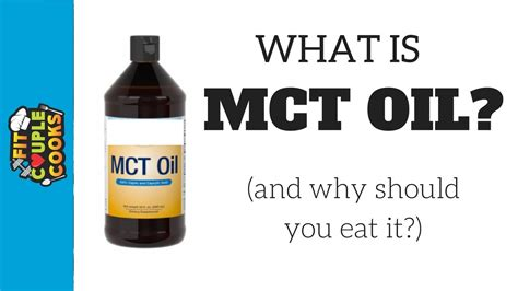 What Is Mct Oil? Youtube
