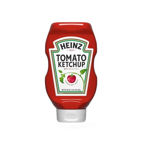 Heinz Tomato Ketchup - Squeeze Bottle -570g - Pantry ...
