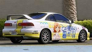 Honda Integra Type R : honda integra type r dc2 toaru majutsu no index gta5 ~ Medecine-chirurgie-esthetiques.com Avis de Voitures