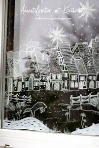 Fenster Bemalen Weihnachten : kreidestift fl ssig kreidemarker edding motiv fensterdeko fenster bemalen weihnachtsdorf ~ Watch28wear.com Haus und Dekorationen