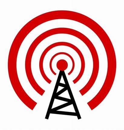 Antenna Clipart Transmission Radio Clip Tower Transmit