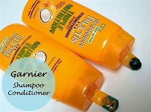 Garnier Fructis Triple Nutrition Strengthening Shampoo And Conditioner  Review And Price