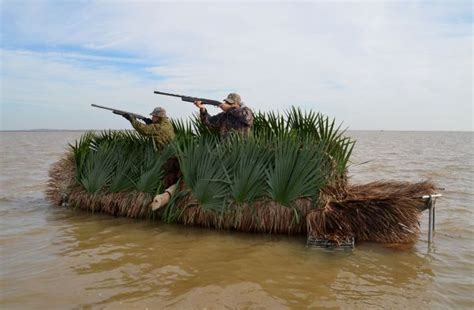 Duck Hunting Out Of A Boat Blind by Pop Up Hunting Blinds Up Duck Hunting Success
