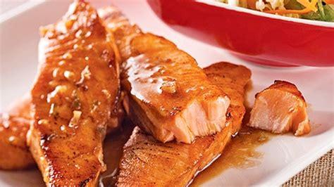 cuisiner filet de saumon filets de saumon miel et lime recettes de cuisine trucs