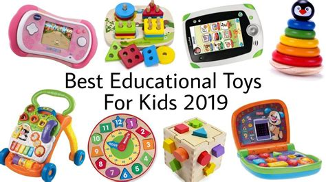 Best Educational Toys For Kids 2019  Top 10 Learning Toys For Children Enfocrunch