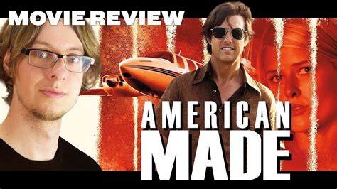 With tom cruise, domhnall gleeson, sarah wright, jesse plemons. American Made - Movie Review - YouTube