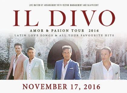 Il Divo Tour Schedule by Il Divo 187 Dolby Theatre