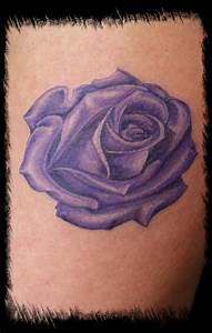 purple rose – Tattoo Picture at CheckoutMyInk.com